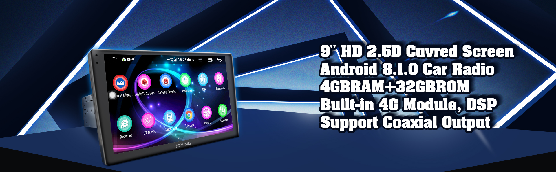 4G lte car stereo,1 din android autoradio, single din touch screen, android 8.0 head unit