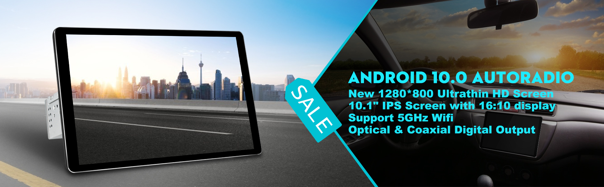 android 10.0 autoradio, double din head unit, android 10.0 car radio, 10.1 inch car stereo