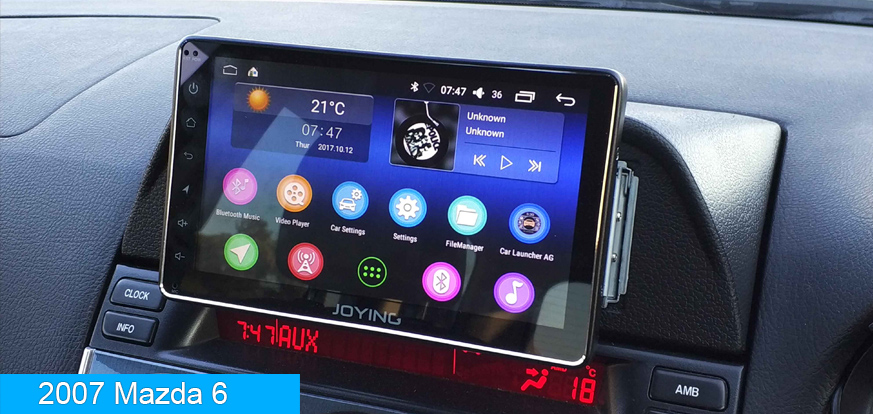 Single 1 Din Touch Screen Android 8 1 Head Unit - Joying