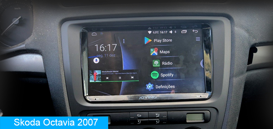 Skoda Android Auto Head Unit Car Stereo Replacement - Joying