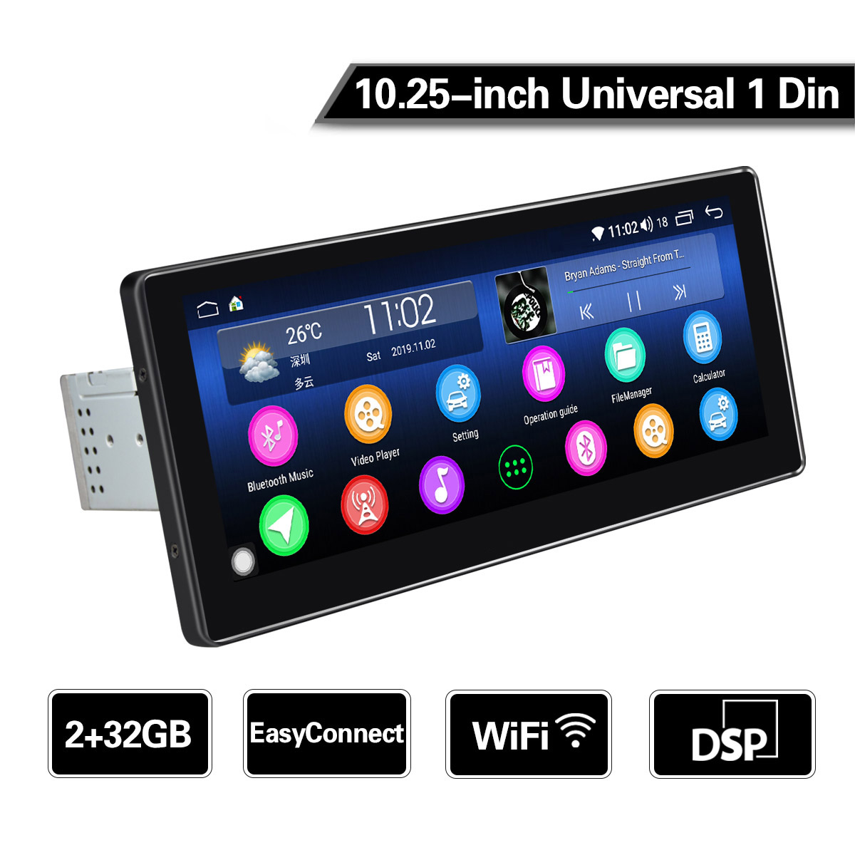 schwarz JOYKK Universal Handy K/ühler K/ühlerhalter L/üfter K/ühler f/ür Smartphone Tablet Zubeh/ör