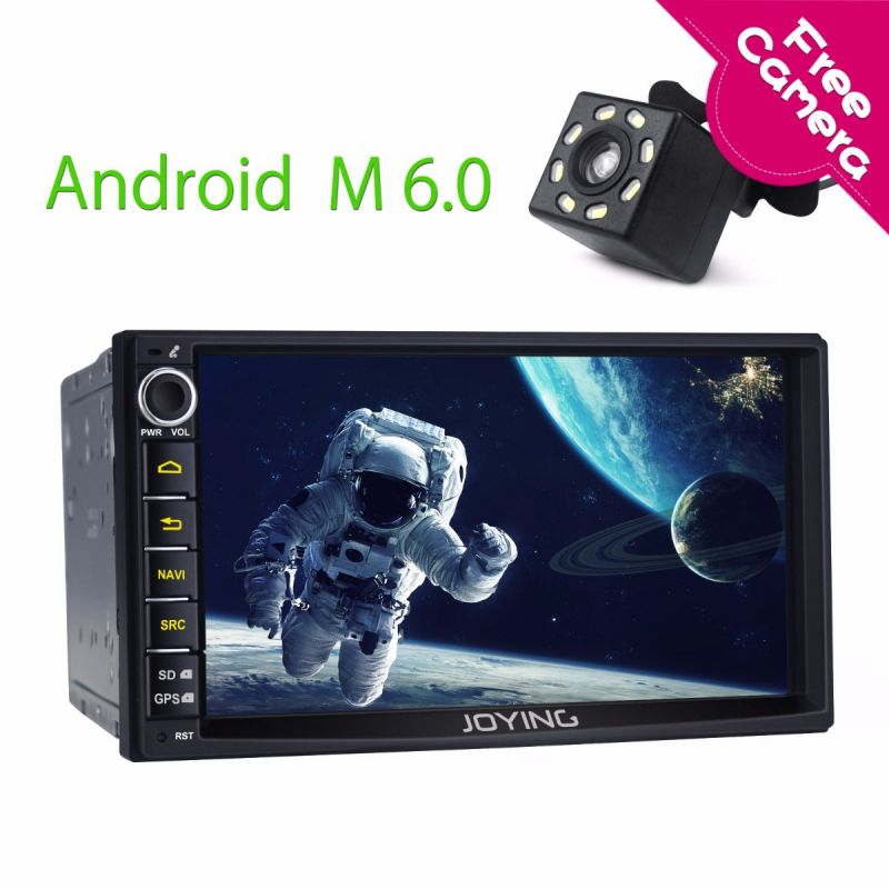 Joying Best Digital Amplifier Car Stereo 7 inch Double 2 Din Android Car Radio Replacement