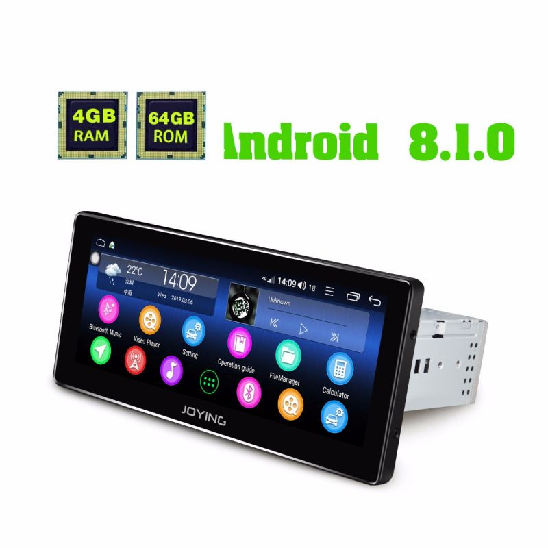 aftermarket single din android car audio system