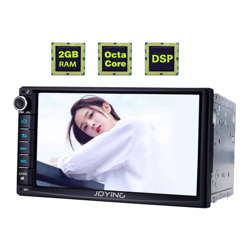 2 din head unit android auto system