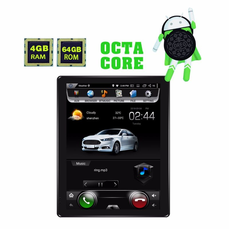 2 din car stereo with backup camera supported