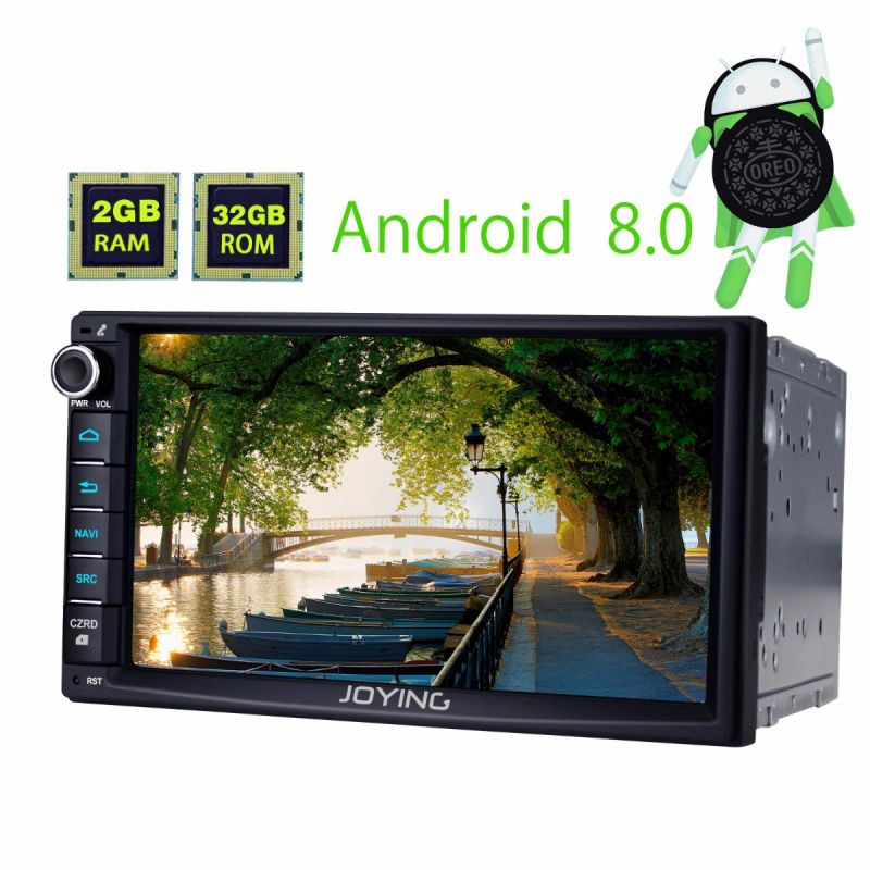 2 din GPS Navigation system head unit android 8.0 radio