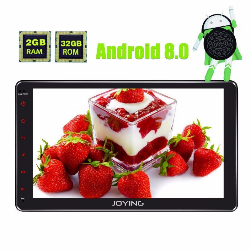 Joying Android 8.0 Oreo Head Unit 10.1 Inch Big Touch Screen HD Double din Car Music System autoradio