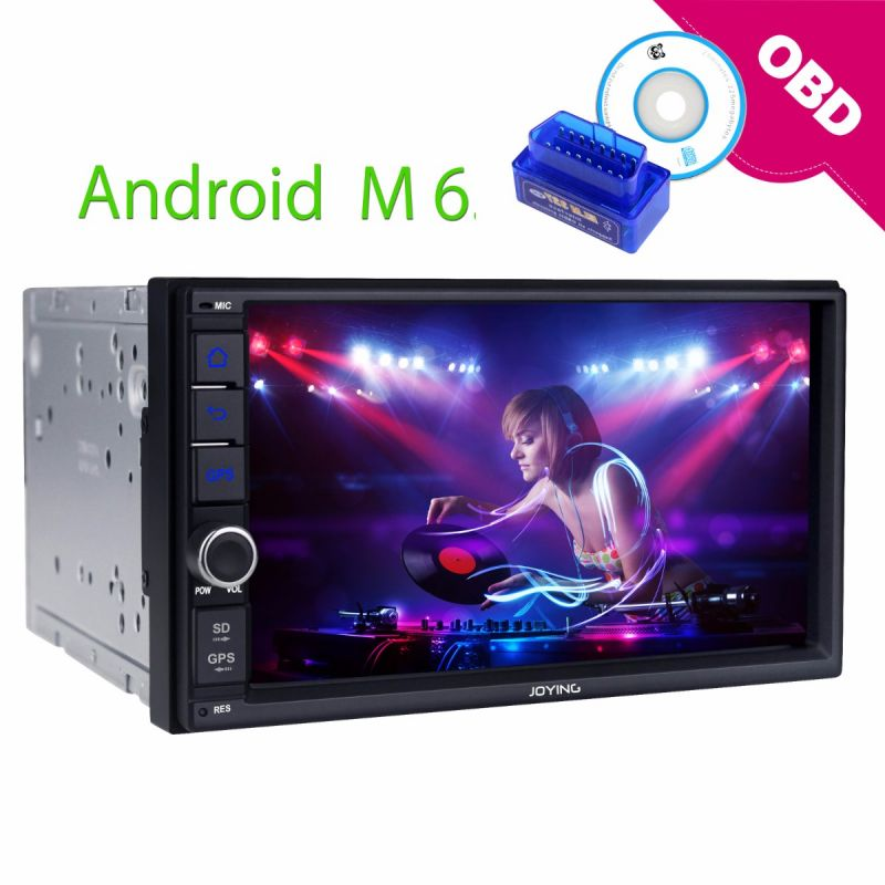 Best 7 inch 2Din DSP Car Stereo Android GPS Navigation 2GB/32GB Head Unit HD Resolution Autoradio dab+ obd