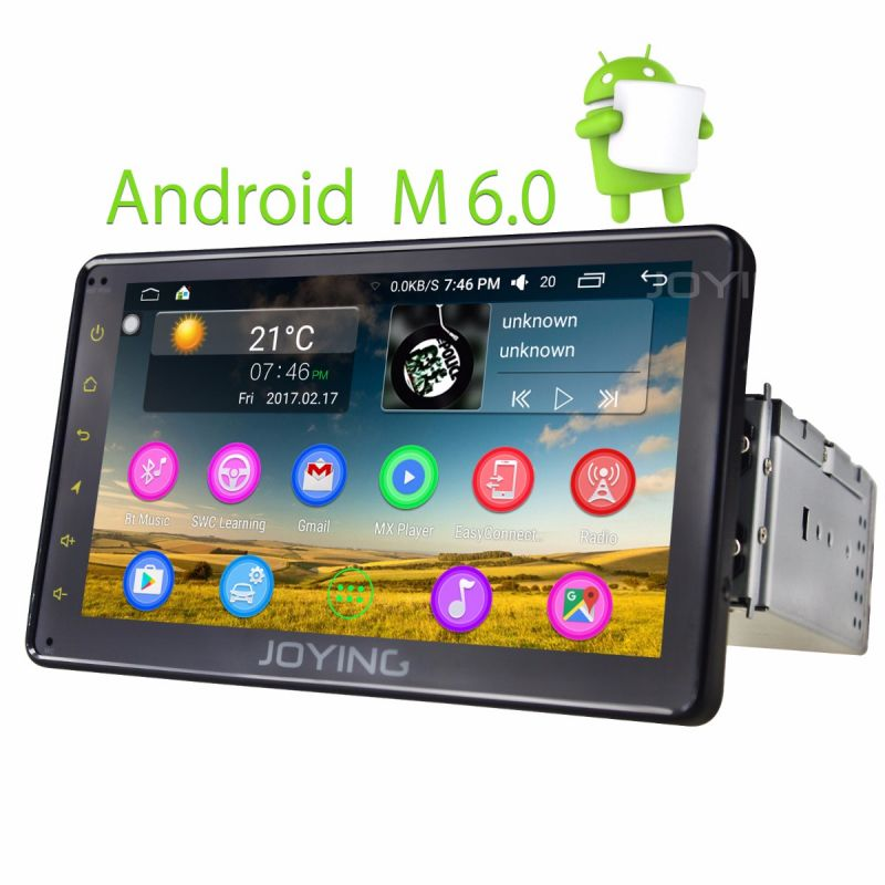 Joying Cheap Price 7 inch Single Din Autoradio Android Head Unit HD Car Radio Stereo dab+ pip