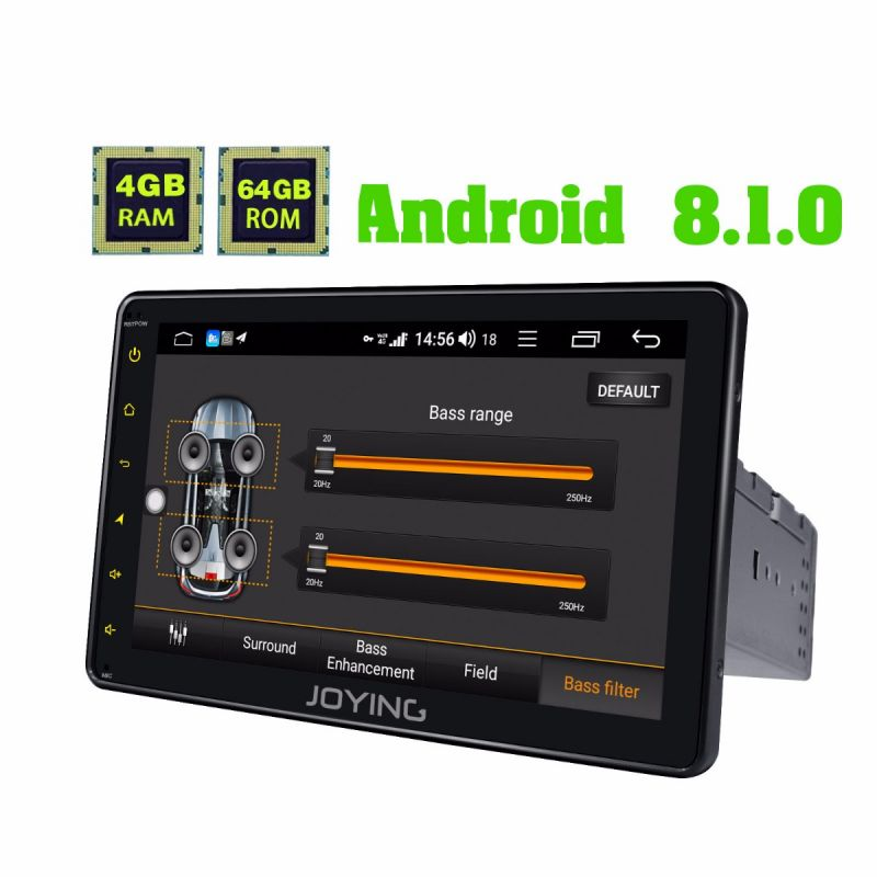 android 8.1 car audio system single din