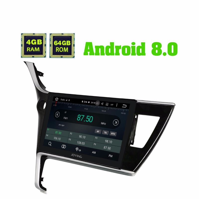2017-2018 Toyota Corolla Android 8.1 Autoradio IPS Touch Screen Car Audio System 4GB/64GB