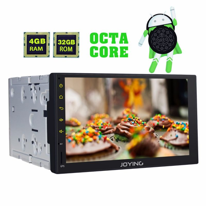Joying Latest Android 8.0 Oreo Radio Double din 7 inch Car Stereo replacement head unit