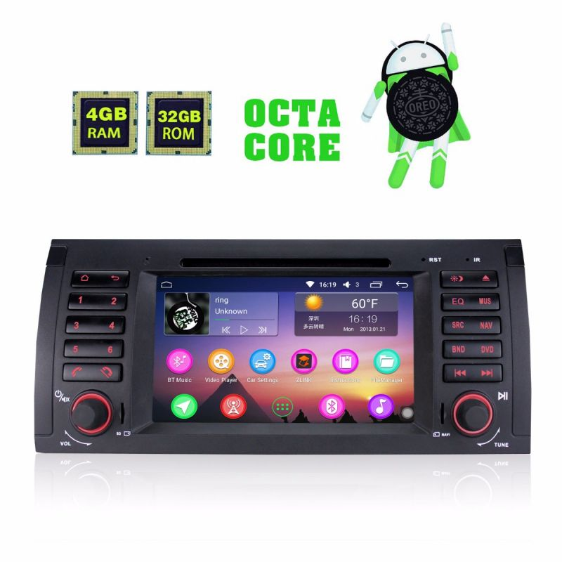Latest BMW E39 Head Unit 4GB/32GB Android 8 Octa Core Car Audio System bluetooth