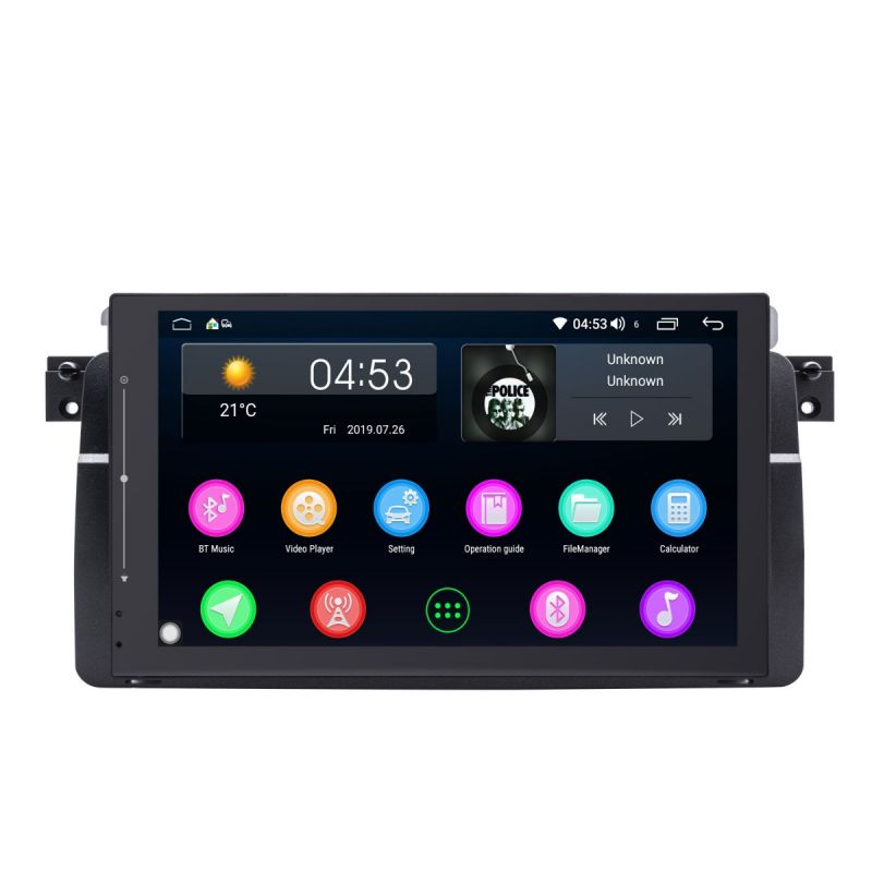 Android 8.1 BMW 3 Series E46 Car Radio Replacement 9 inch IPS Screen Navigation System