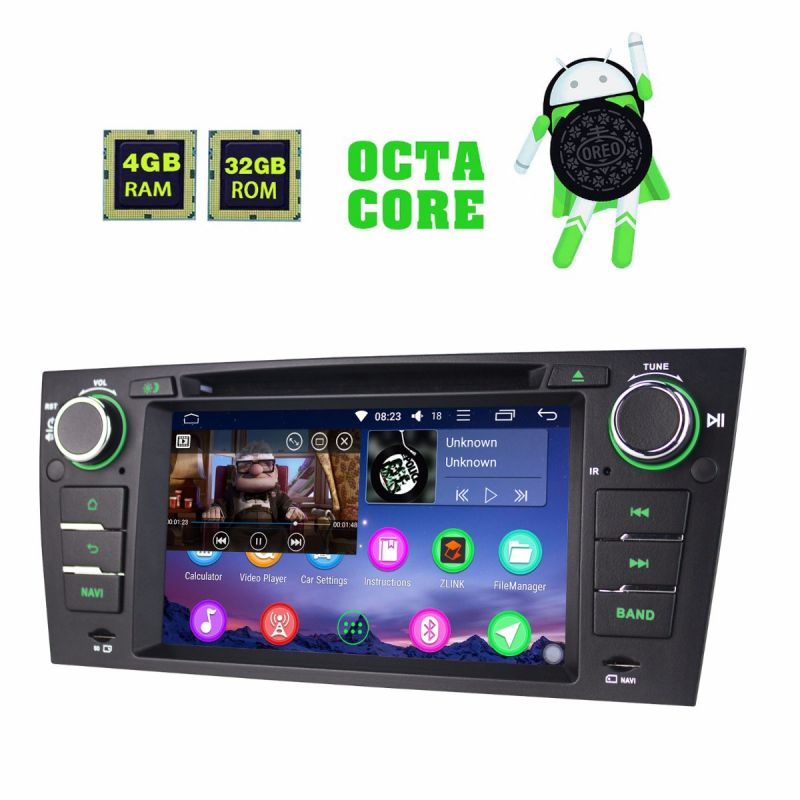 Cheap Price BMW E90 Autoradio Android 8 Oreo System Car Stereo Head Unit with fast boot