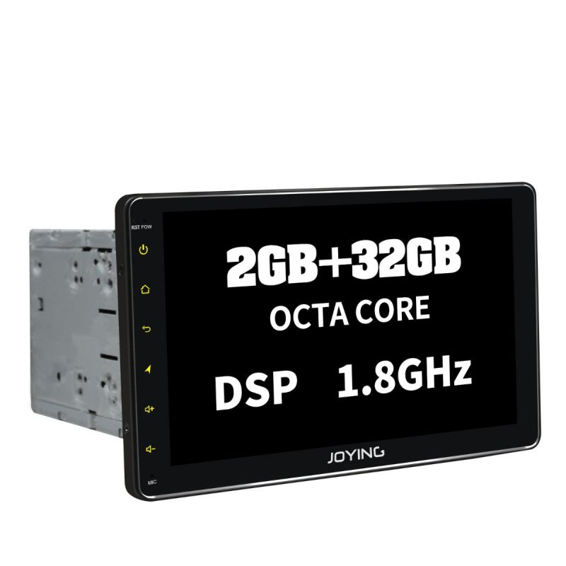 Joying 2GB Double Din Autoradio Android 8.1 Radio 10.1 Inch Touch Screen