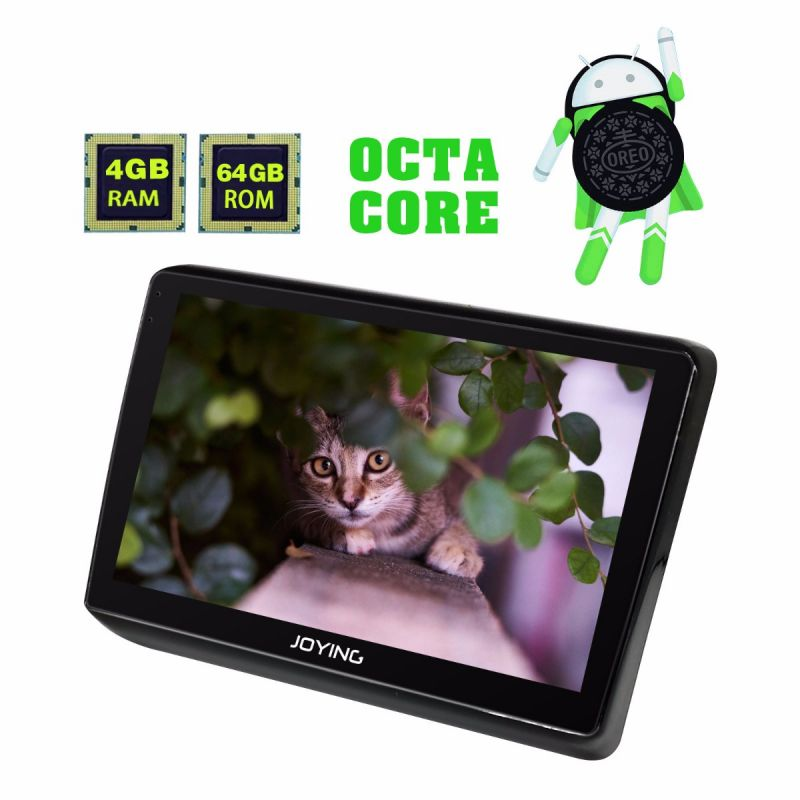 Joying Aftermarket Android 8.0 Octa Core Head Unit 4GB Honda H-RV 10.1 inch IPS screen Car Radio
