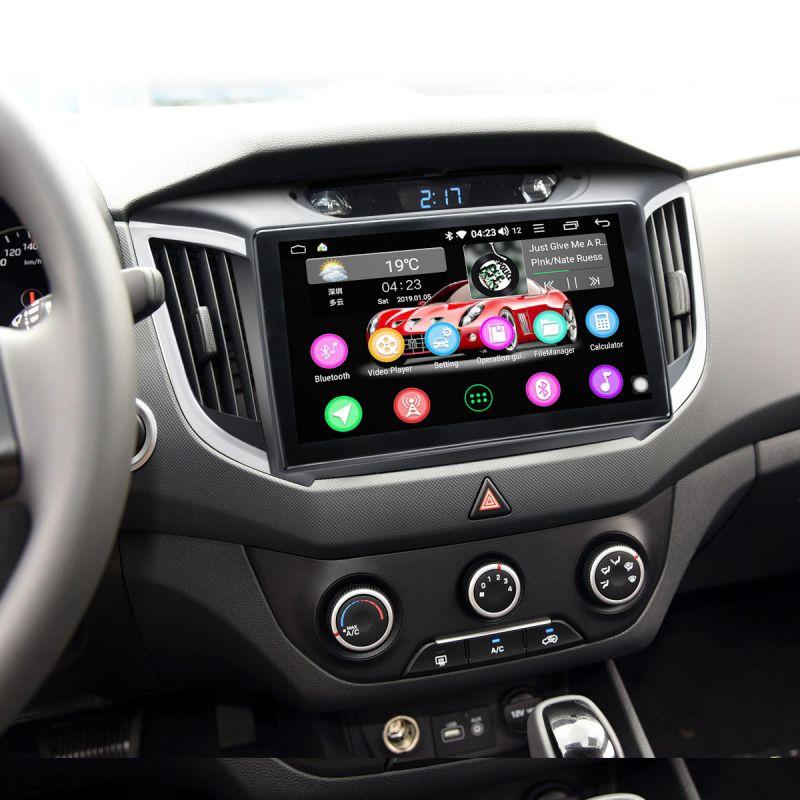 Hyundai IX25 Car Radio Upgrade 4G Android 8.1.0 HD Plug and Play Head Unit