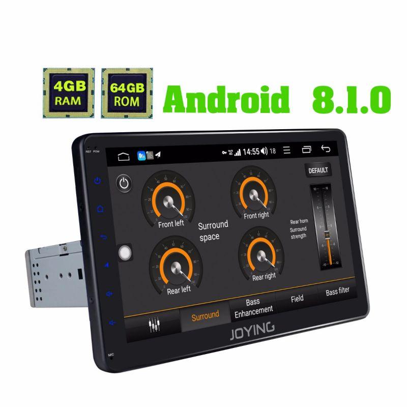 10.1 inch IPS Screen single din car radio