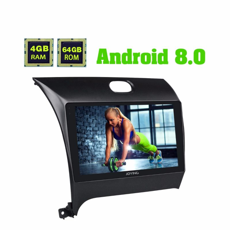 Latest Kia K3 RIO Android 8.0 Oreo Head Unit 4GB/64GB GPS Navigation System for 2012 - 2016