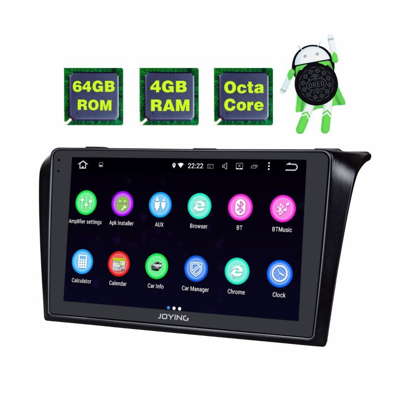Best Mazda 3 Car Radio upgraded Android 8.0 Oreo 4GB Octa Core Head Unit Bluetooth for 2004 -2009