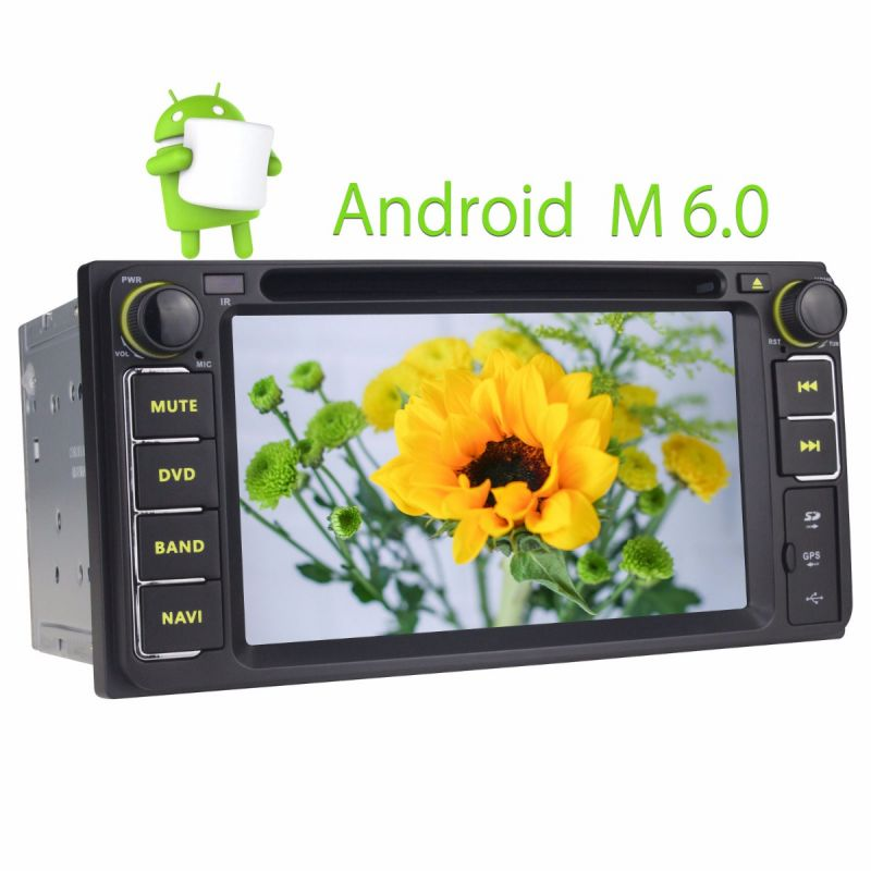 Joying 2GB Android Auto for Toyota Scion Prado Highlander Hilux Rav4 6.2 Inch Head Unit Bluetooth Car Stereo