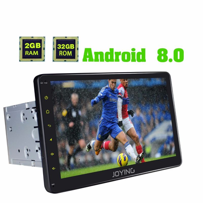 Joying 10.1 Inch Nissan Head Unit HD 1024*600 Touch Screen Android 8.0 Car Audio System wifi