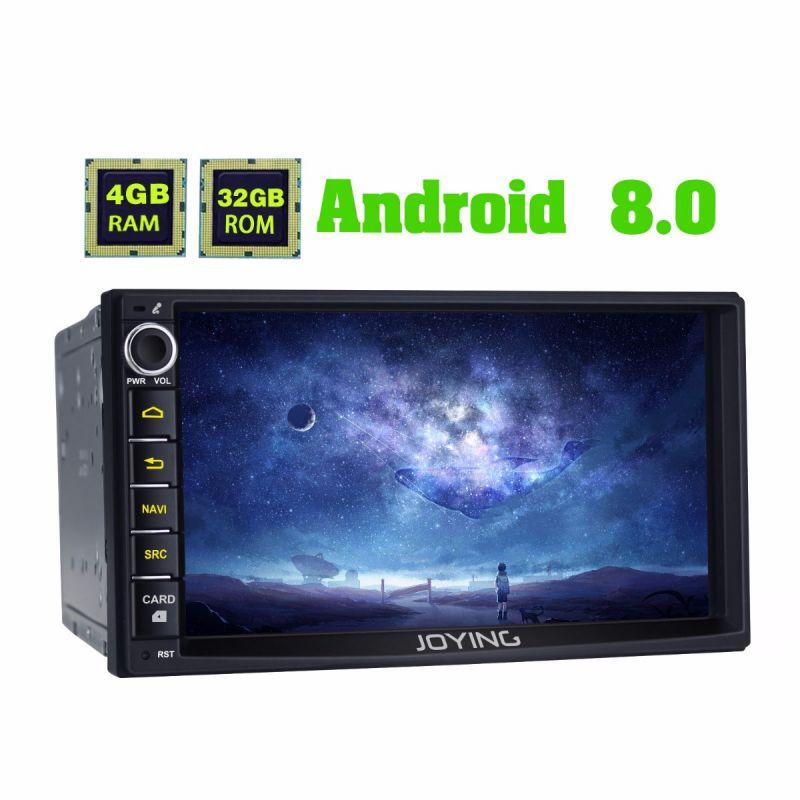 Joying Nissan Head Unit Android 8.0 Oreo Car Audio System 4GB for X-Trail Sentra Qashqai