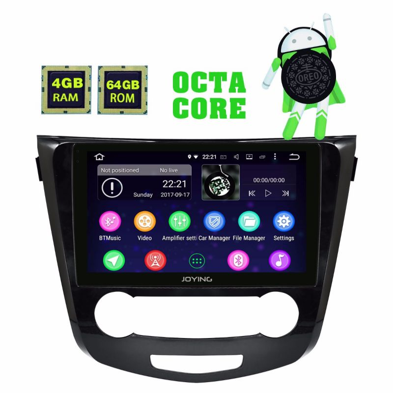 Android 8 oreo 4GB Car Radio for Nissan Qashqai