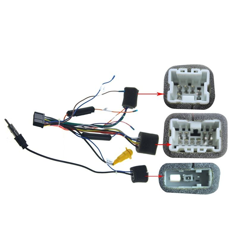 Joying Nissan cable android car radio harness
