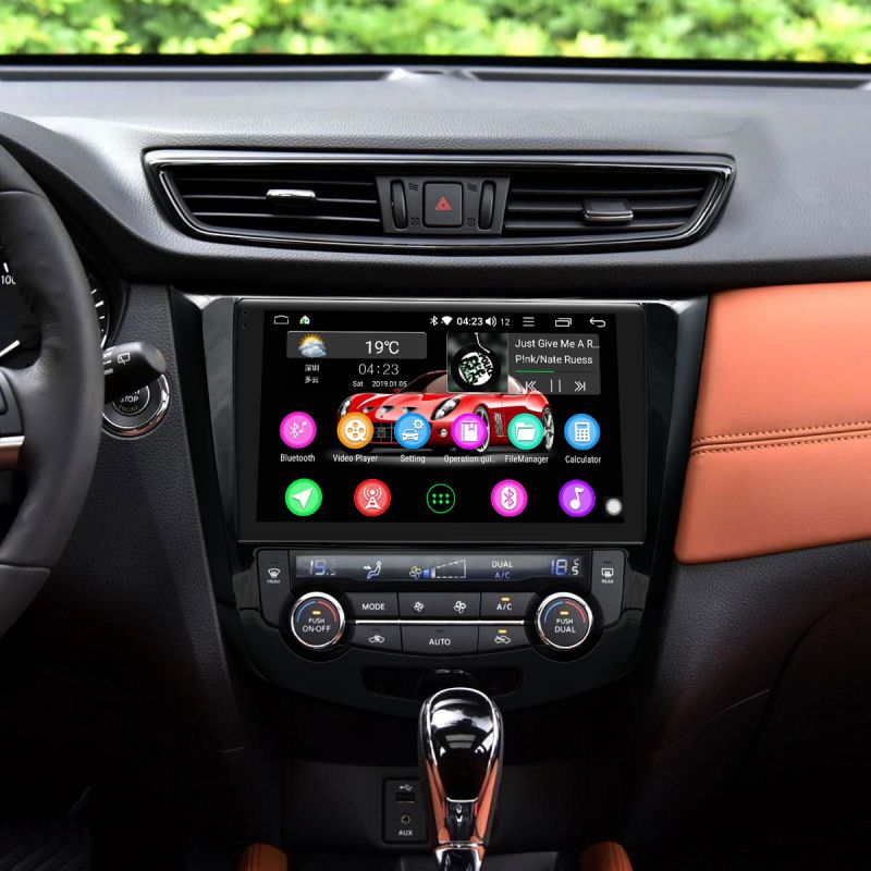 Nissan android car gps navigation system