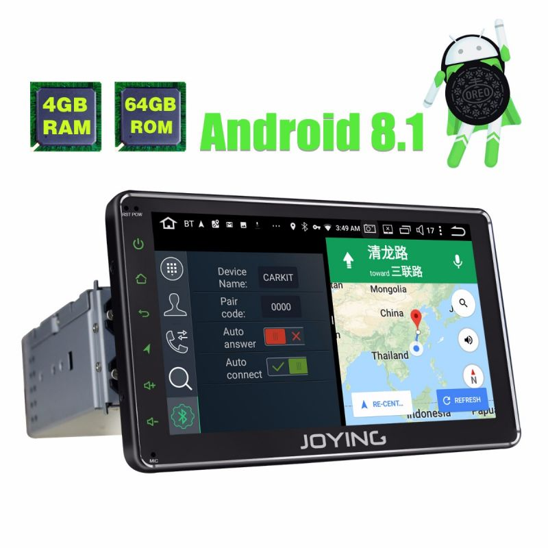 Best buy touch screen 7 inch single din android auto head unit