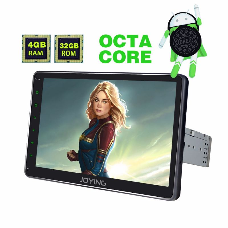4GB android 8.1 Octa Core single din car gps navigation system