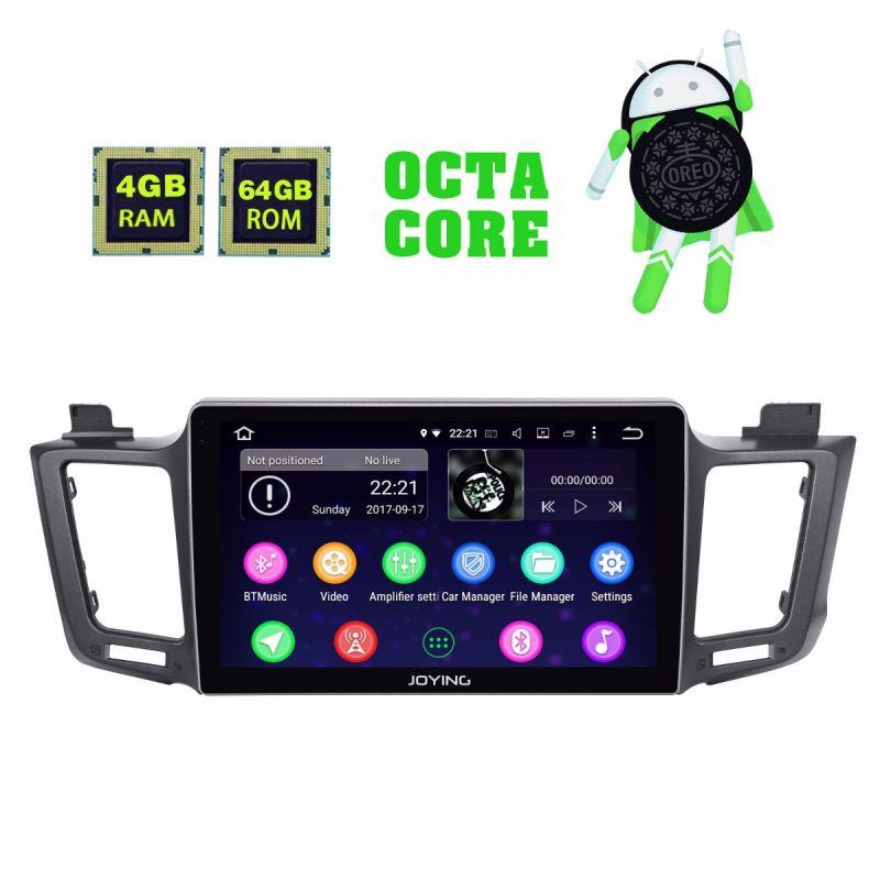 Joying 10.1 Inch IPS Screen 4GB Android 8.0 Oreo Car Navigation System For Toyota RAV4 2012-2018
