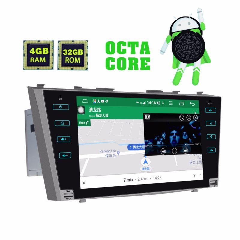 aftermarket 9 inch HD touch screen camry head unit
