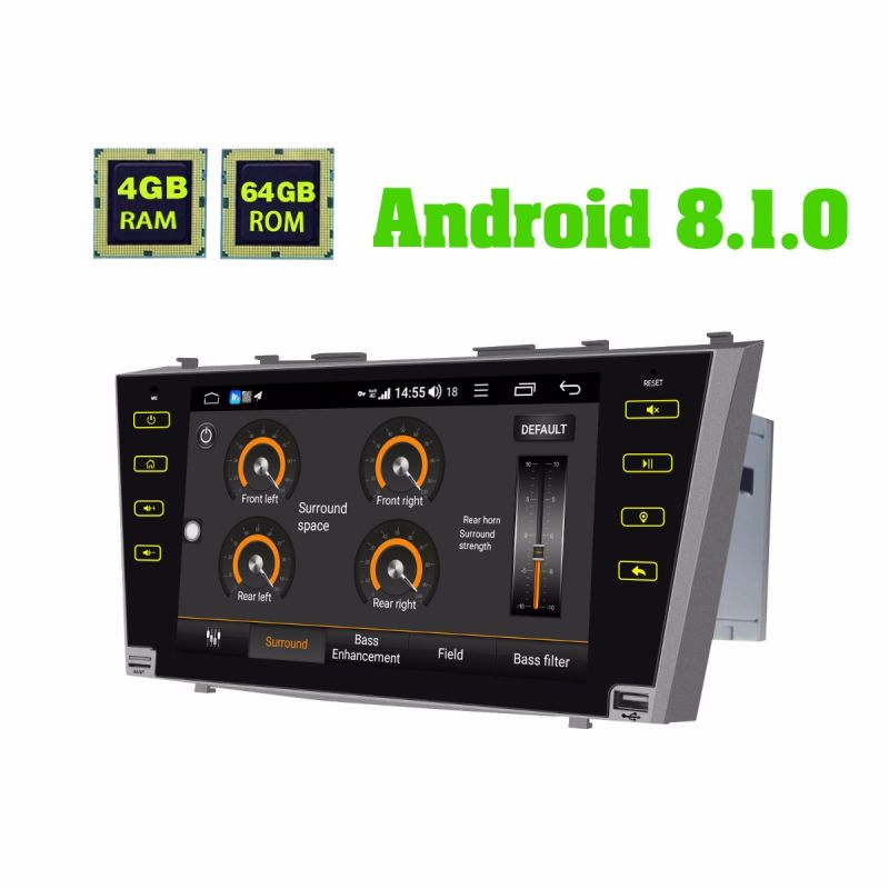 toyota camry android car audio system