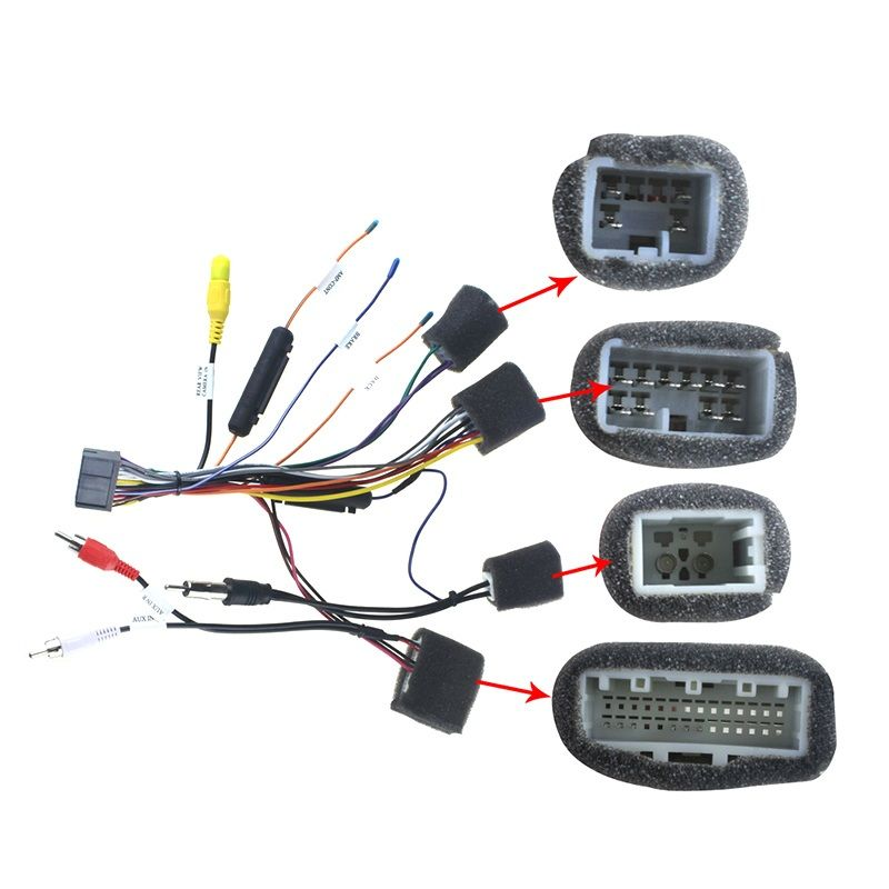 Joying Toyota Hilux Harness android head unit wiring cable