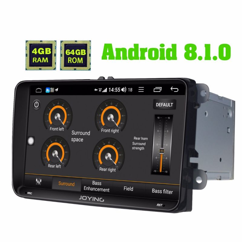 vw android 8.1.0 car radio upgrade