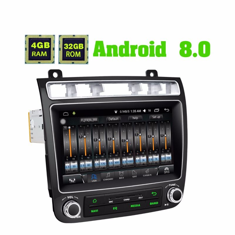 Best Volkswagen Touareg DSP Car Stereo Android 8.0 Oreo 4GB HD Head Unit