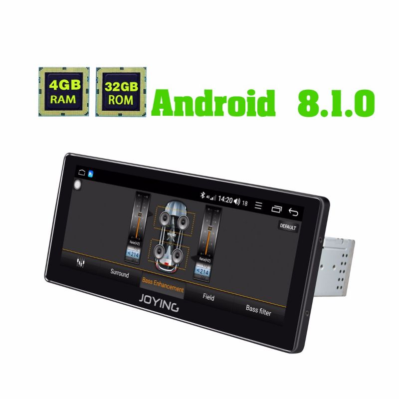 android 8.1 oreo system single din head unit