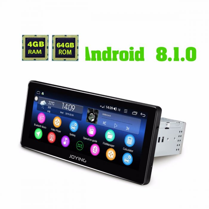 EU Warehouse 8 8 Inch single din 4G Car Radio Android 8 1 Head Unit with  Coaxial output