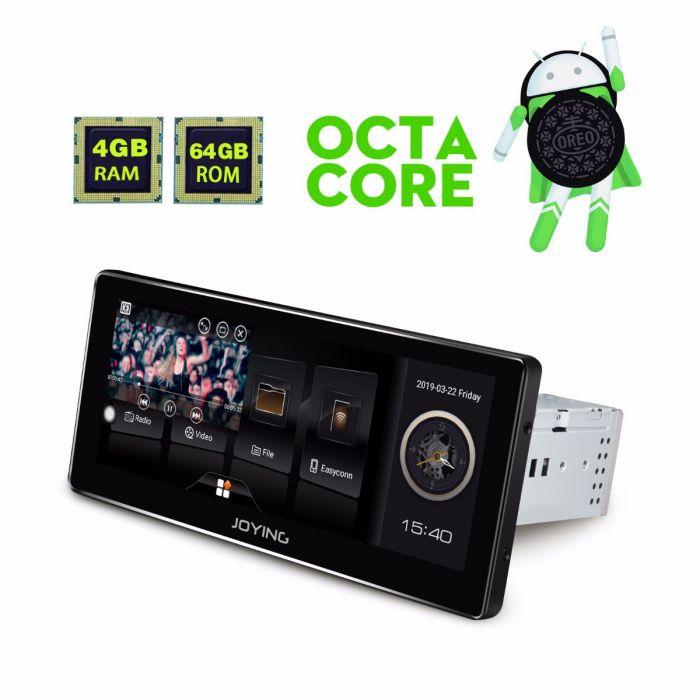 8 8 Inch Single Din GPS Navigation 4GB/64GB Android Auto Head Unit DSP Radio