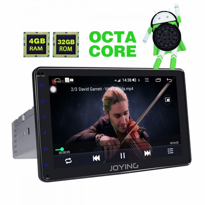 Latest Android 8 1 0 Single Din Car Audio System 8 Inch Head Unit