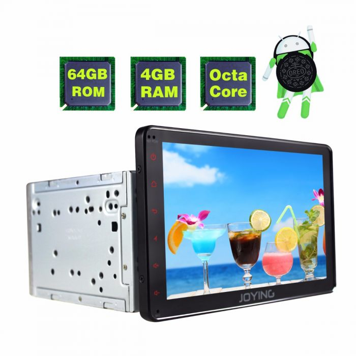 Toyota Android 8 1 Octa Core 4gb 64gb Head Unit Car Stereo Joying