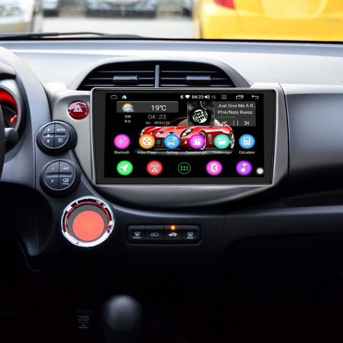 Car Audio System >> Honda Fit 2008 2013 Car Audio System 4g Android 8 1 0 Dsp Navigation
