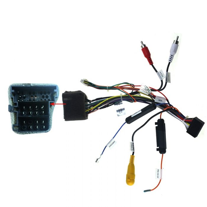 Joying Android head unit connection cable wiring harness for VW plug