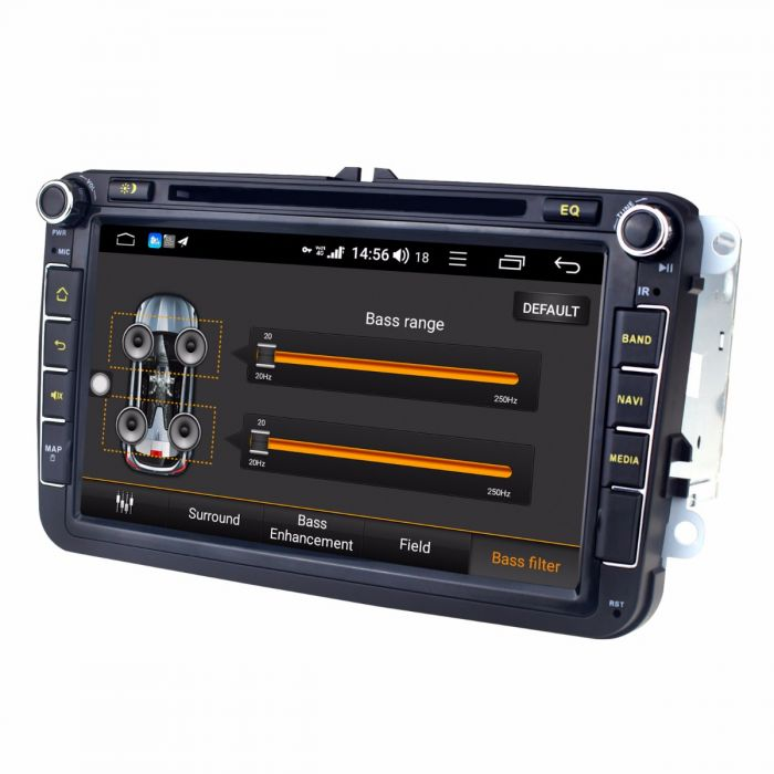 Joying 8 inch Volkswagen Head Unit 4GB+64GB Android 8 1 0 GPS Navigation  with DSP