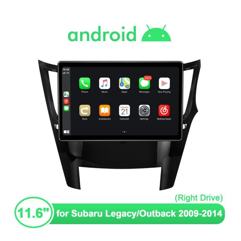 subaru android radio