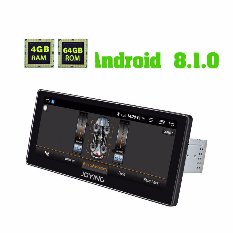 android 8.1 oreo system single din head unit