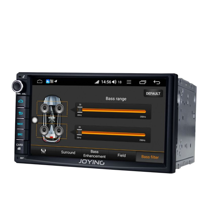Joying EU Warehouse Android 8.1 Double din Head Unit Replacement 7 inch DSP Radio